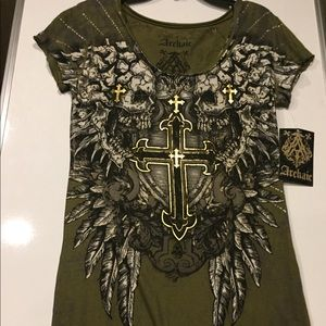 ⚜️NWT- Archaic/AFFLICTION Women's T-Shirt ⚜️